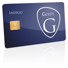 Golfy Carte Indigo