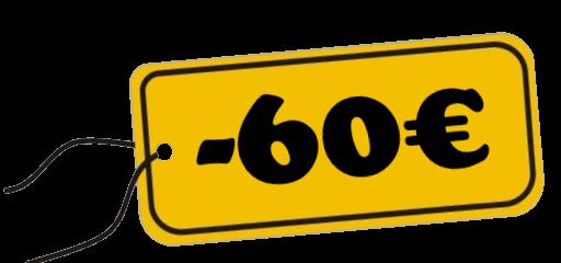 Remise EGA 60 Euros